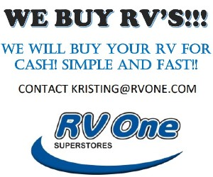 We'll Buy Your RV!  RV One Superstore